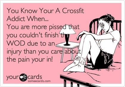 Are You Addicted to CrossFit? Get hooked, Get addicted.  High on CrossFit