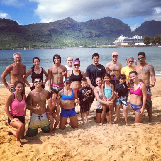 Great turn out at Saturdays Partner Beach WOD.   We had so much fun that we forgot we were working out :)