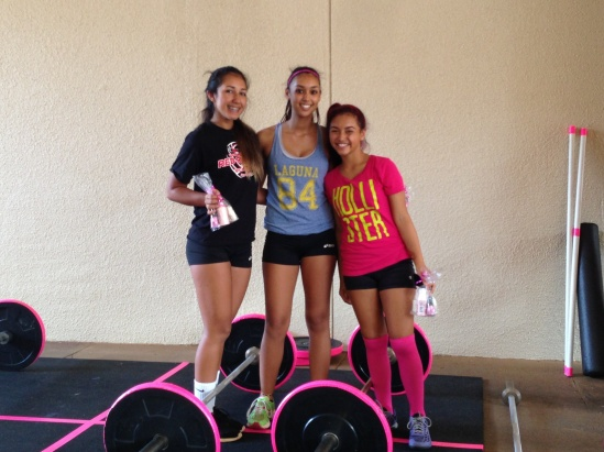 Our Kids Summer Strength and Conditioning Program Kaya, Kayla, Baylie
